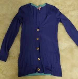 Two tone Lily cardigan